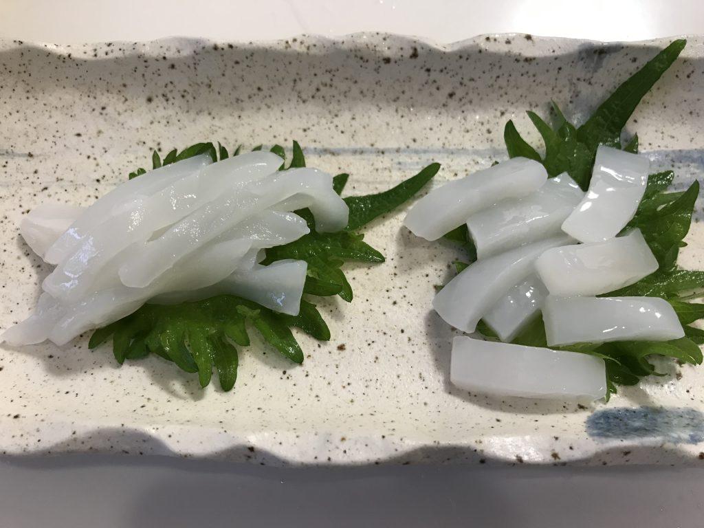 ふるさと納税鮮魚定期便いちき串木野市 ミズイカ刺身